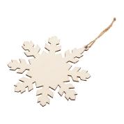 drewniana śnieżynka 91RD016-1